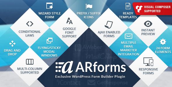 ARForms: Premium Form Builder Plugin for Wordpress - CodeCanyon Item for Sale