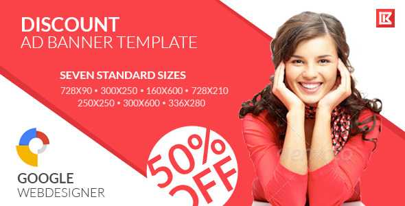 CodeCanyon Sales and Shopping Google Ad HTML Banner 2 11589840