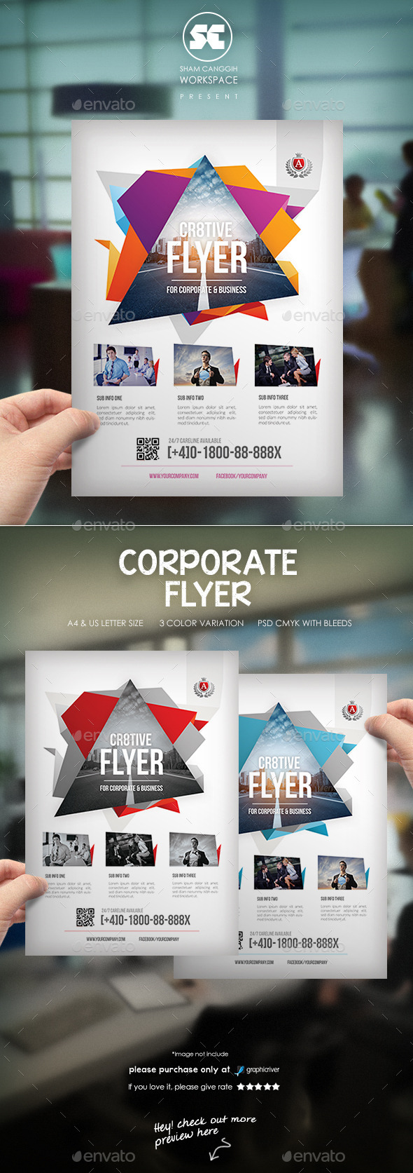 GraphicRiver Corporate Business Flyer 11589884