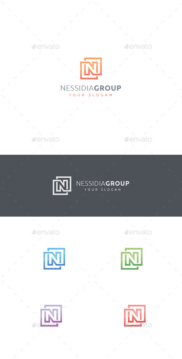 GraphicRiver N Letter Logo 11589928