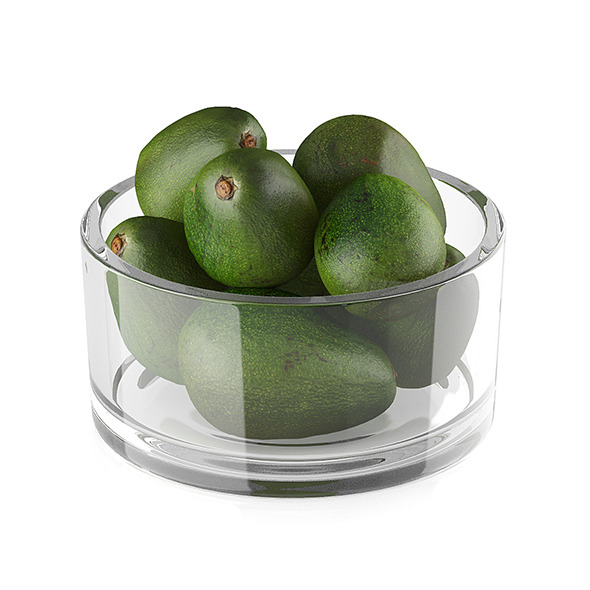 3DOcean Bowl of avocado fruits 11590411