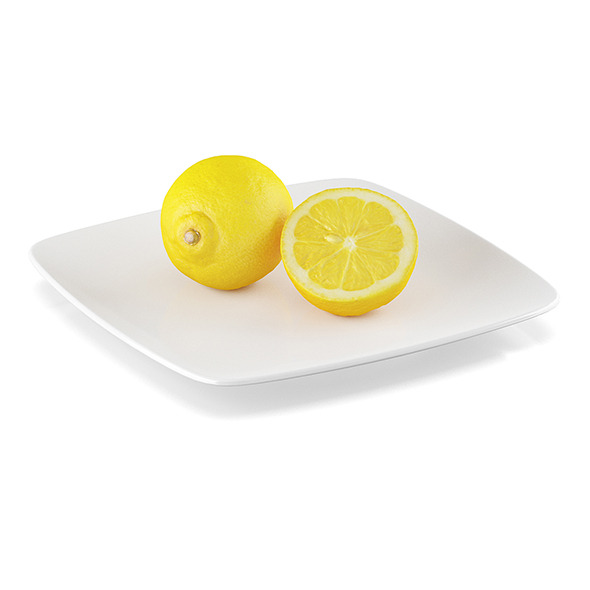 3DOcean Lemon fruits 11590670