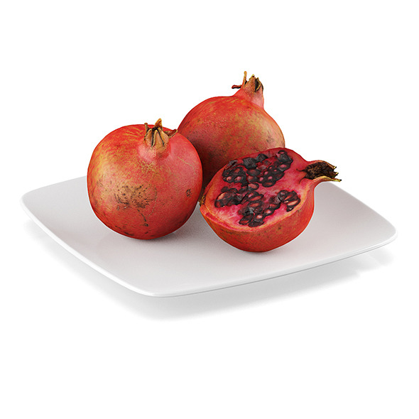 3DOcean Pomegranate fruits 11590679