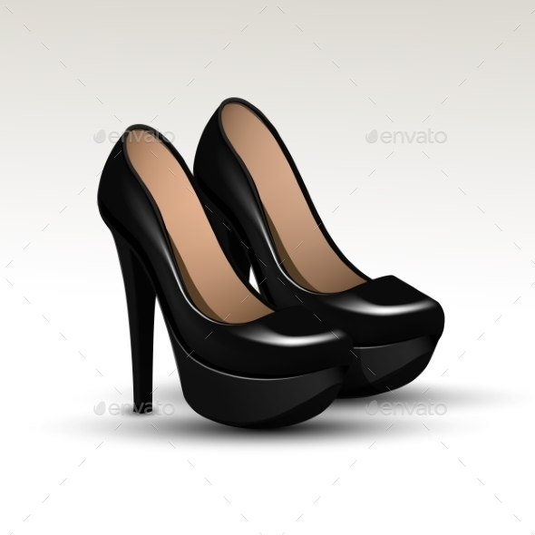 GraphicRiver Woman Fashion Shoes High Heels 11590952