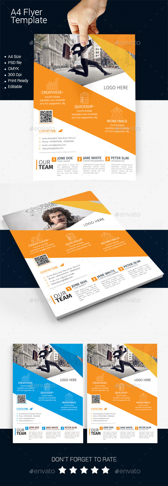 GraphicRiver A4 Business Flyer Template 10 11591052