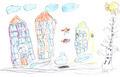 Kid's drawing - PhotoDune Item for Sale