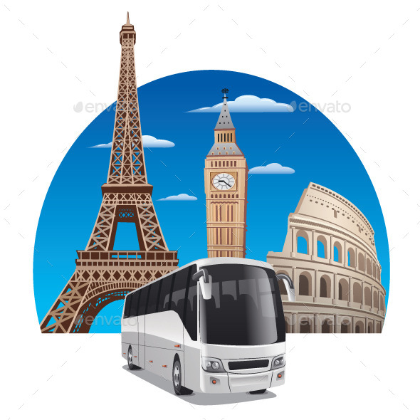 GraphicRiver Bus Tour 11591224