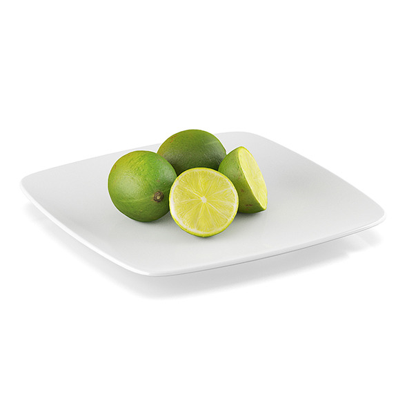 3DOcean Lime fruits 11591238