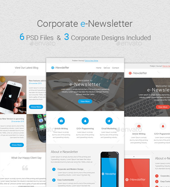 GraphicRiver Corporate Newsletter 11591237