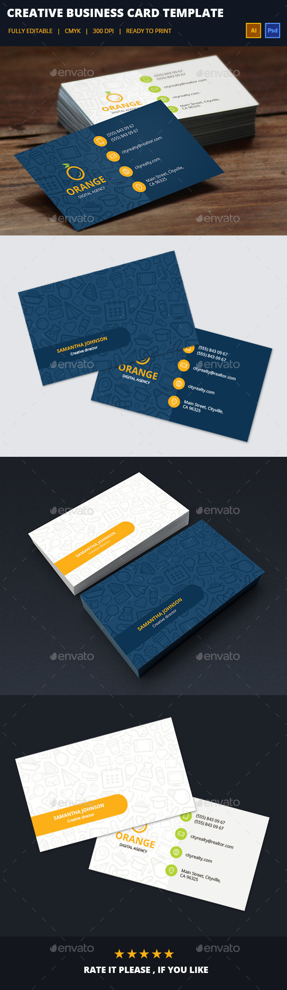 GraphicRiver Creative Business Card 11479440