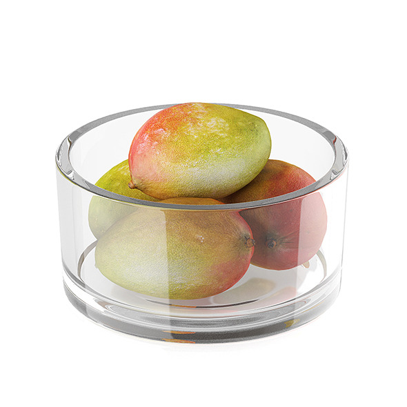 Bowl of mango fruits - 3DOcean Item for Sale