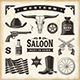 Vintage Western Set - GraphicRiver Item for Sale