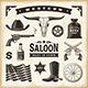 Vintage Western Set - GraphicRiver Item for Sale