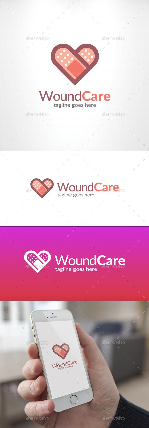 GraphicRiver Wound Care Logo 11591362