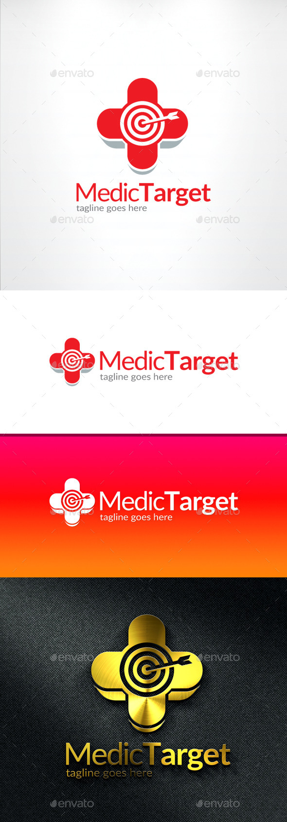 GraphicRiver Medical Target Logo 11591614