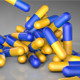 Pills Bouncing On A Reflective Surface - VideoHive Item for Sale