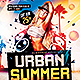 Urban Summer I Flyer Template PSD - GraphicRiver Item for Sale