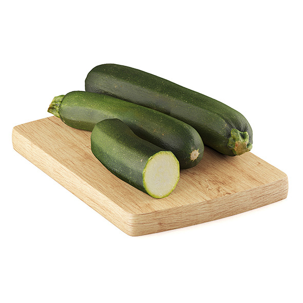 Zucchini - 3DOcean Item for Sale