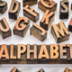 alphabet word typography in wood type - PhotoDune Item for Sale