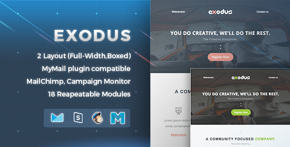 ThemeForest Exodus Newsletter Email 11592421