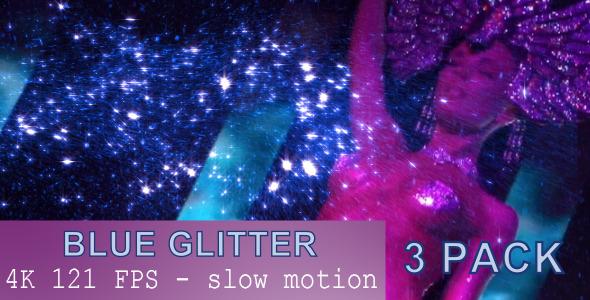 Blue Glitter 3 Pack
