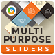 Multipurpose Sliders - 3 Color Variations - GraphicRiver Item for Sale
