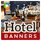 Hotel Banners - GraphicRiver Item for Sale