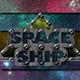 5 Spaceship Styles + 5 Seamless Patterns - GraphicRiver Item for Sale
