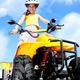 Child girl rides on quad - PhotoDune Item for Sale