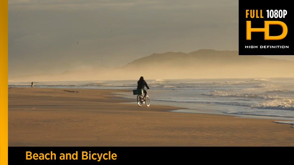 VideoHive Beach and Bicycle 11593032