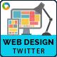 Web Design Twitter Header - GraphicRiver Item for Sale