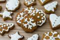 Christmas Gingerbread Cookies - PhotoDune Item for Sale