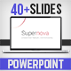 Supernova PowerPoint Template - GraphicRiver Item for Sale