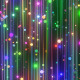 Blinking Colorful Particles - VideoHive Item for Sale