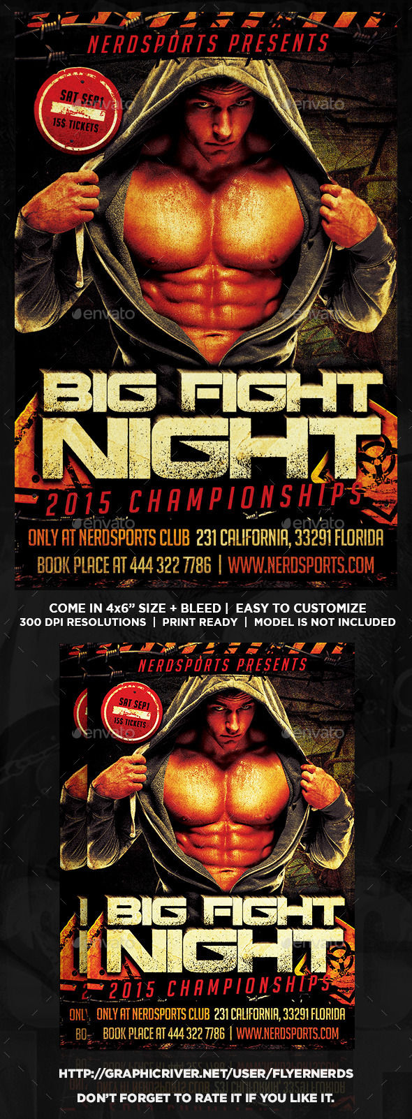 GraphicRiver Big Fight Night 2015 Championships 11593689