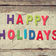 HAPPY HOLIDAYS - PhotoDune Item for Sale