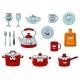 Cartoon Smiling Kitchenware and Glassware - GraphicRiver Item for Sale
