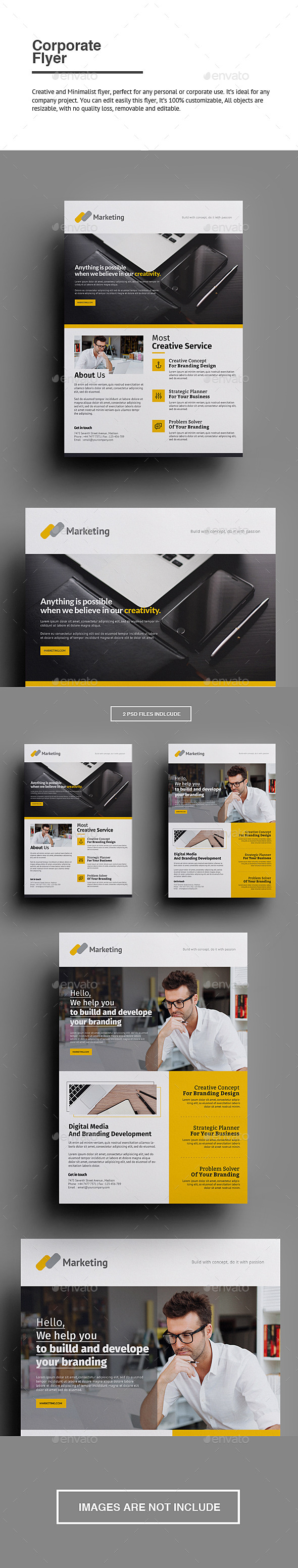 GraphicRiver Corporate Flyer 11595852