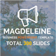 Modern Magdeleine - Business Powerpoint Template - GraphicRiver Item for Sale