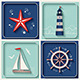 Marine Theme Icons Set - GraphicRiver Item for Sale