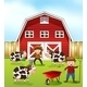 Farmer and Barn - GraphicRiver Item for Sale