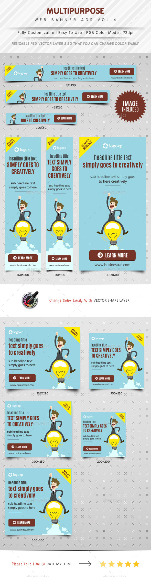 GraphicRiver Multipurpose Web Banner Ads Vol.4 11596177