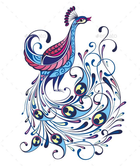 GraphicRiver Peacock 11596223