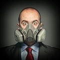 man with gas mask - PhotoDune Item for Sale