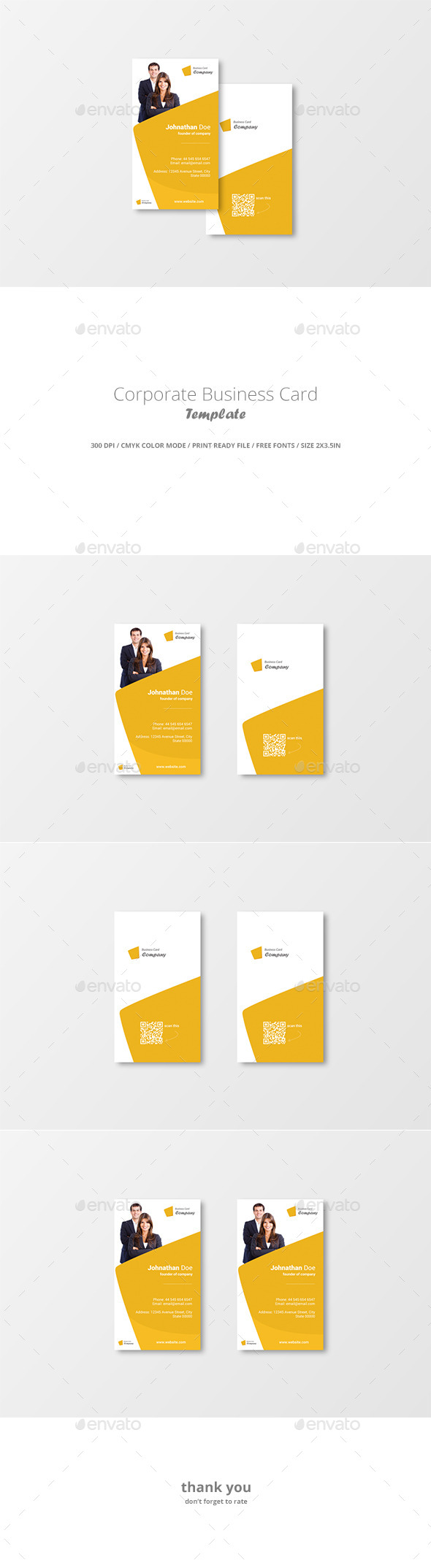 GraphicRiver Corporate Business Card Template 11600389