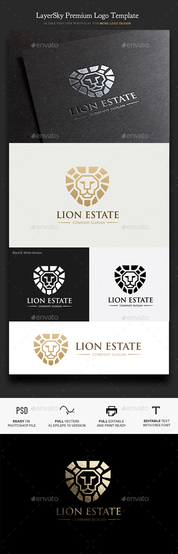 GraphicRiver Lion Real Estate 11600574