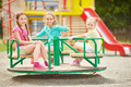 Girls on carousel - PhotoDune Item for Sale