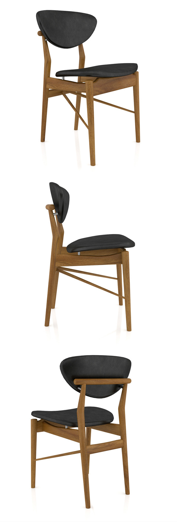 3DOcean Finn Juhl 108 Chair 11601311