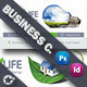 Green Energy Business Card Templates - GraphicRiver Item for Sale
