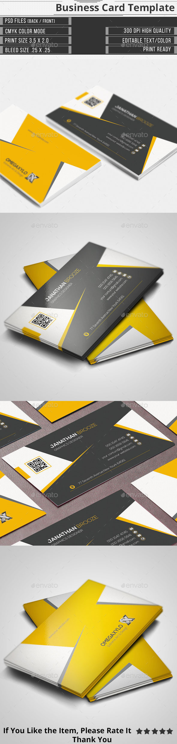 GraphicRiver Corporate Business Card 11601565